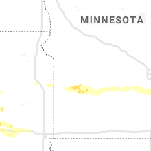 Regional Hail Map for Montevideo, MN - Friday, July 12, 2019