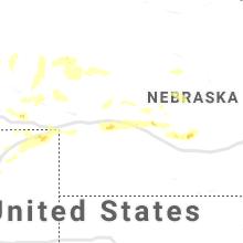 Hail Map for north-platte-ne 2019-07-12