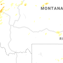 Regional Hail Map for Bozeman, MT - Saturday, July 13, 2019
