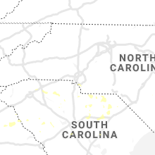 Regional Hail Map for Charlotte, NC - Saturday, July 13, 2019