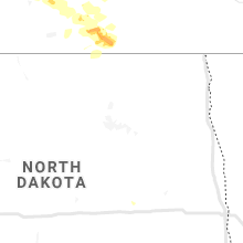 Regional Hail Map for Devils Lake, ND - Saturday, July 13, 2019