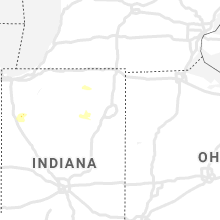 Regional Hail Map for Fort Wayne, IN - Saturday, July 13, 2019