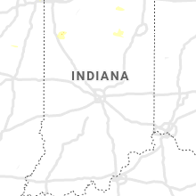 Regional Hail Map for Indianapolis, IN - Saturday, July 13, 2019