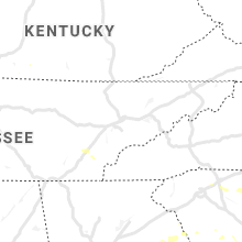 Regional Hail Map for Knoxville, TN - Saturday, July 13, 2019