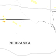 Regional Hail Map for Oneill, NE - Saturday, July 13, 2019