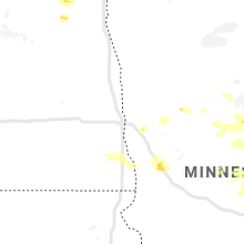 Regional Hail Map for Fargo, ND - Sunday, July 14, 2019