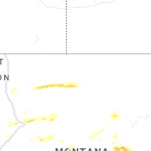 Regional Hail Map for Havre, MT - Sunday, July 14, 2019