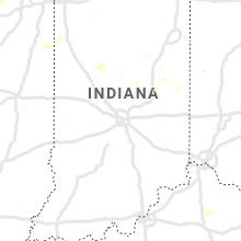 Regional Hail Map for Indianapolis, IN - Sunday, July 14, 2019