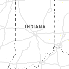 Regional Hail Map for Indianapolis, IN - Monday, July 15, 2019