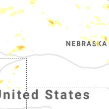 Hail Map for north-platte-ne 2019-07-15