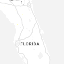 Regional Hail Map for Orlando, FL - Monday, July 15, 2019
