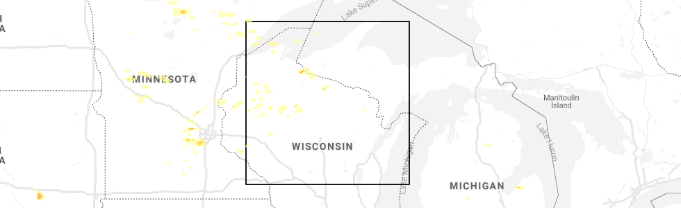 Interactive Hail Maps Hail Map For Minocqua Wi