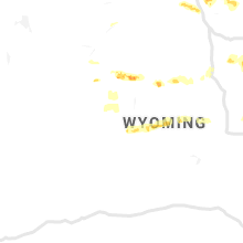 Regional Hail Map for Riverton, WY - Monday, July 15, 2019