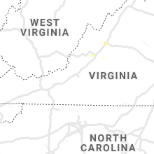 Regional Hail Map for Roanoke, VA - Monday, July 15, 2019