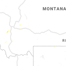 Regional Hail Map for Bozeman, MT - Tuesday, July 16, 2019