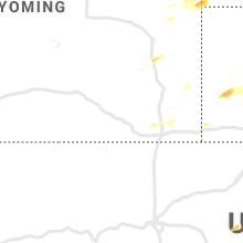 Regional Hail Map for Laramie, WY - Tuesday, July 16, 2019
