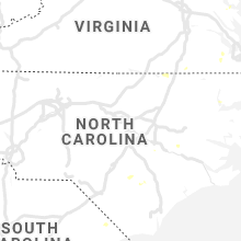 Regional Hail Map for Raleigh, NC - Tuesday, July 16, 2019