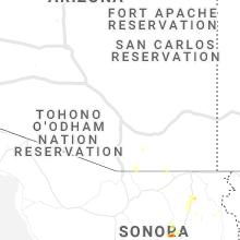 Regional Hail Map for Tucson, AZ - Tuesday, July 16, 2019
