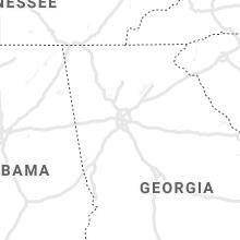 Regional Hail Map for Atlanta, GA - Wednesday, July 17, 2019