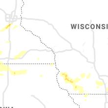 Hail Map for la-crosse-wi 2019-07-17