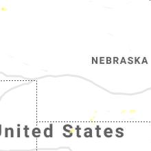 Hail Map for north-platte-ne 2019-07-17