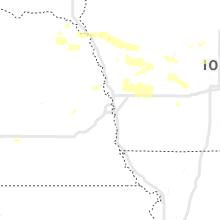 Regional Hail Map for Omaha, NE - Wednesday, July 17, 2019