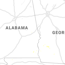 Regional Hail Map for Auburn, AL - Thursday, July 18, 2019