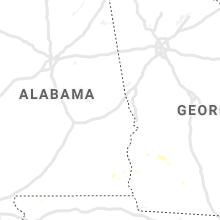 Regional Hail Map for Auburn, AL - Thursday, July 18, 2019