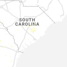 Regional Hail Map for Charleston, SC - Thursday, July 18, 2019