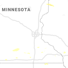 Regional Hail Map for Minneapolis, MN - Thursday, July 18, 2019
