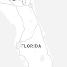 Regional Hail Map for Orlando, FL - Thursday, July 18, 2019