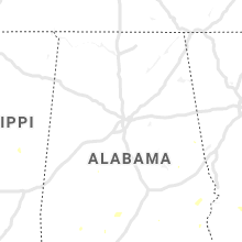 Regional Hail Map for Birmingham, AL - Friday, July 19, 2019