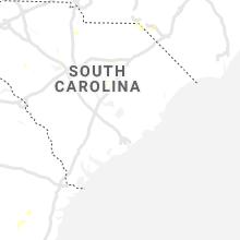 Regional Hail Map for Charleston, SC - Friday, July 19, 2019