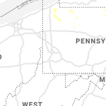 Regional Hail Map for Pittsburgh, PA - Friday, July 19, 2019