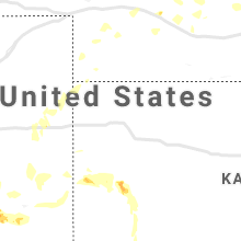 Regional Hail Map for Colby, KS - Saturday, July 20, 2019