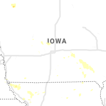 Regional Hail Map for Des Moines, IA - Saturday, July 20, 2019