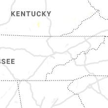 Regional Hail Map for Knoxville, TN - Saturday, July 20, 2019