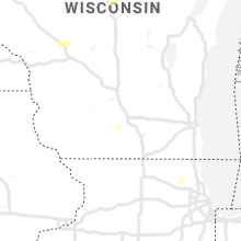 Regional Hail Map for Madison, WI - Saturday, July 20, 2019