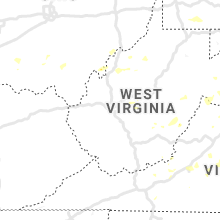 Regional Hail Map for Charleston, WV - Sunday, July 21, 2019