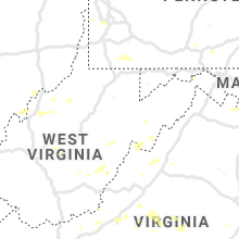 Regional Hail Map for Elkins, WV - Sunday, July 21, 2019