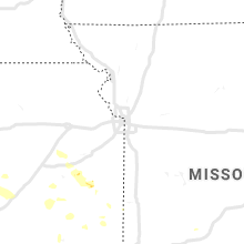 Regional Hail Map for Kansas City, MO - Sunday, July 21, 2019