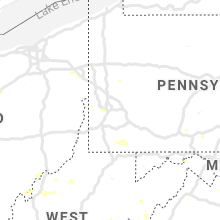 Regional Hail Map for Pittsburgh, PA - Sunday, July 21, 2019