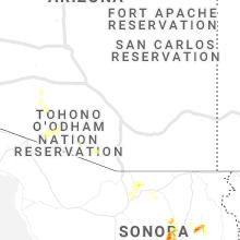 Hail Map for tucson-az 2019-07-21