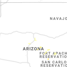 Regional Hail Map for Flagstaff, AZ - Monday, July 22, 2019