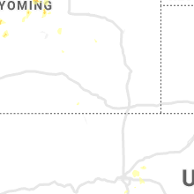 Regional Hail Map for Laramie, WY - Monday, July 22, 2019