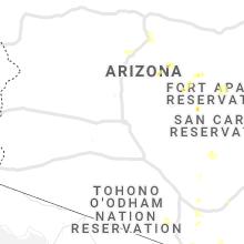 Hail Map for phoenix-az 2019-07-22