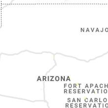 Regional Hail Map for Flagstaff, AZ - Tuesday, July 23, 2019