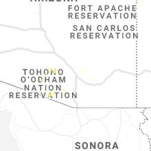 Hail Map for tucson-az 2019-07-25