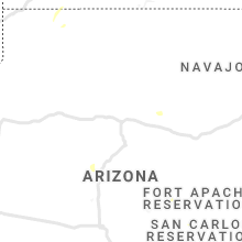 Regional Hail Map for Flagstaff, AZ - Friday, July 26, 2019