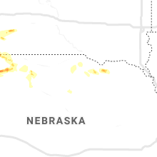 Regional Hail Map for Oneill, NE - Friday, July 26, 2019